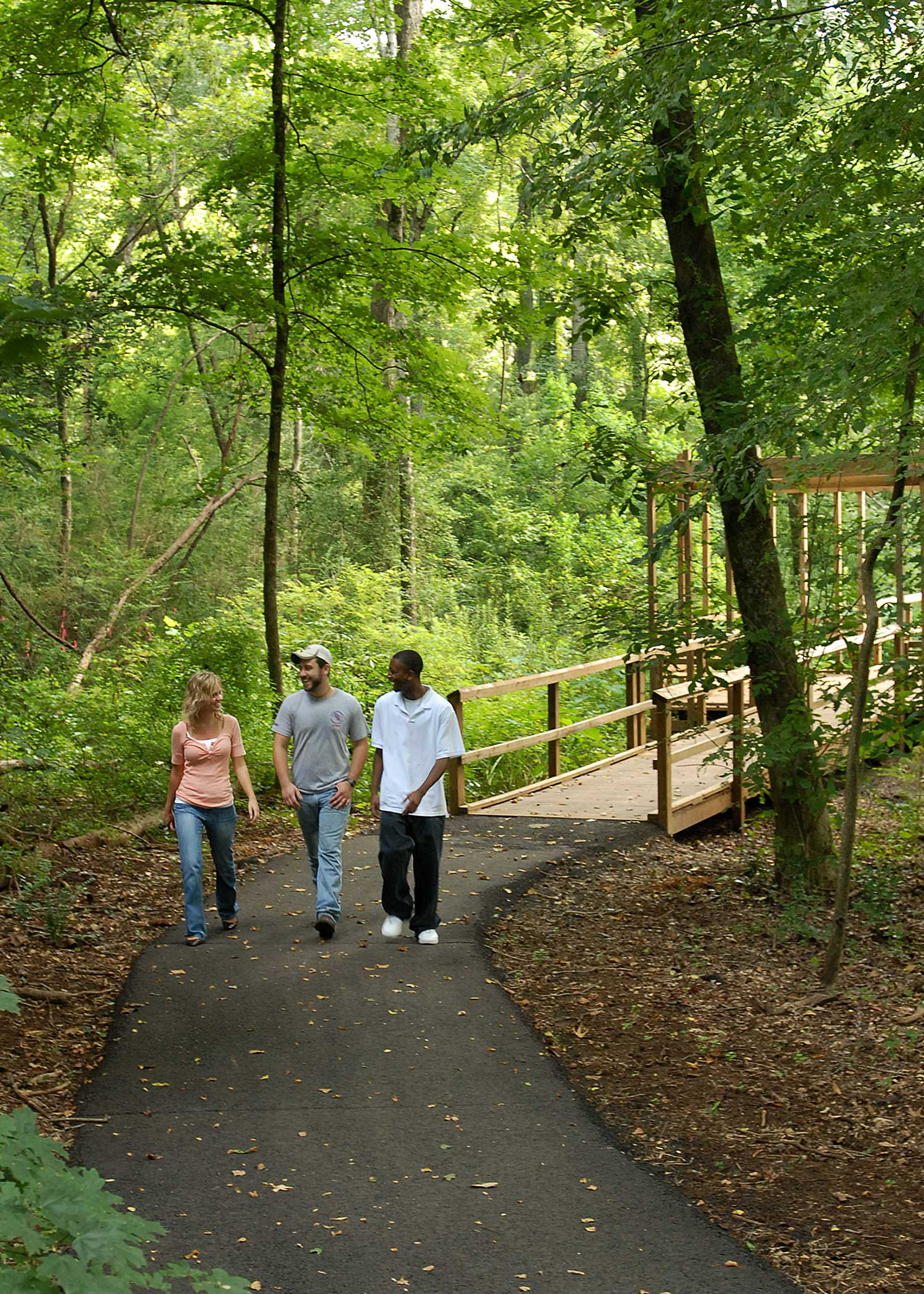 Walking and Biking Trails in Nacogdoches