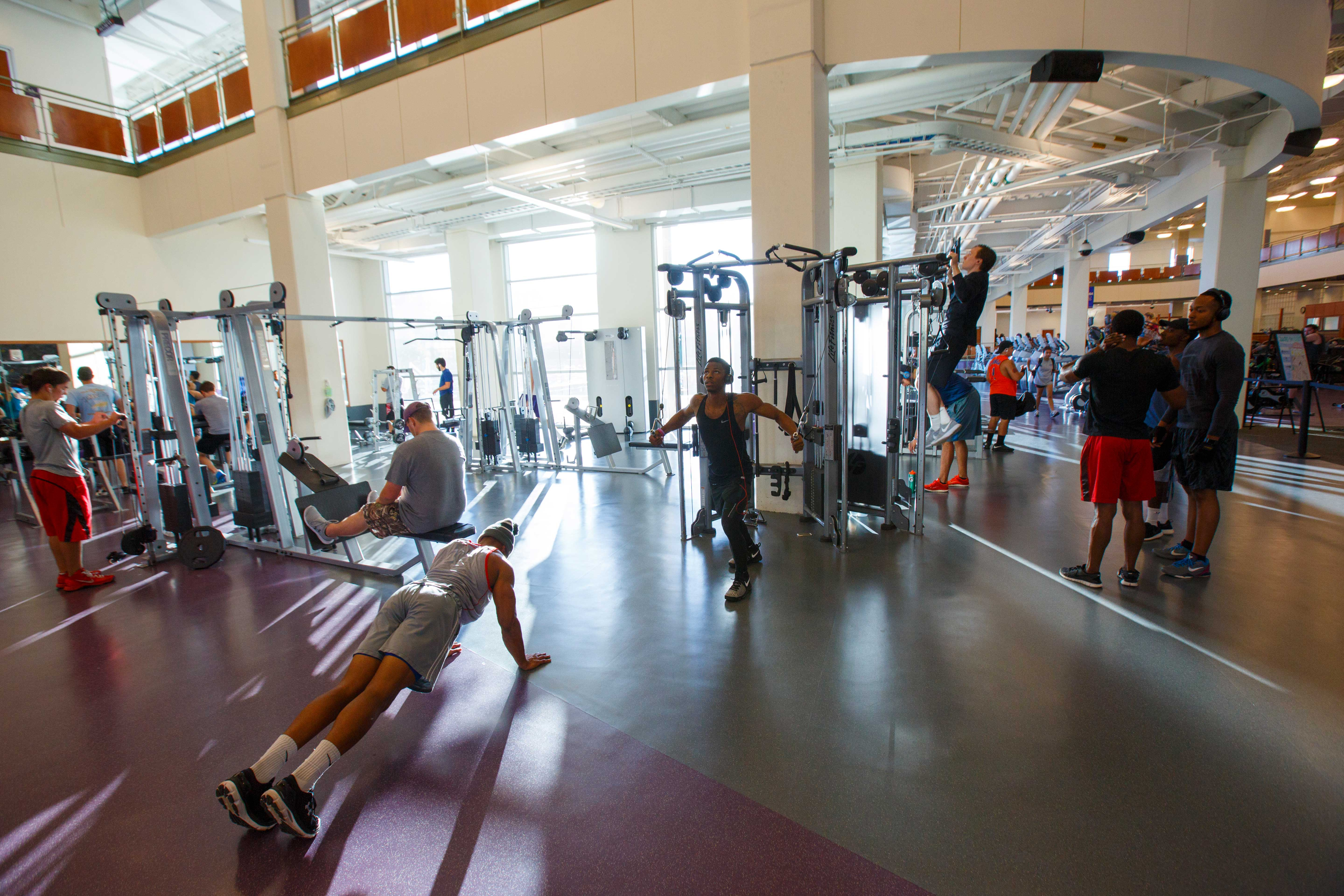 SFA Recreation Center Weight Room